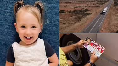Police are looking for a driver seen leaving the campsite in Western Australia the morning four-year-old girl Cleo Smith disappeared.