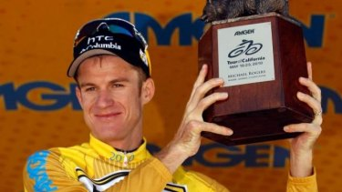 Tainted meat: Australian cyclist Michael Rogers.