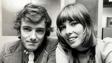 Tony and Maureen Wheeler in 1973.
