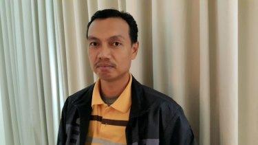 """""""We love this country"""": Gafatar leader Mahful Tumanurung."""