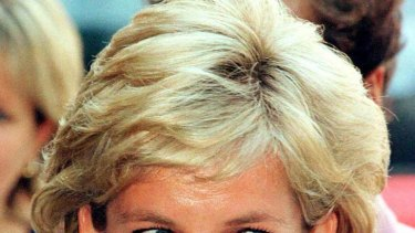 Princess Diana ... difficult time in the spotlight.