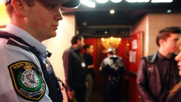 A police blitz in Sydney targeting alcohol-fueled behaviour.