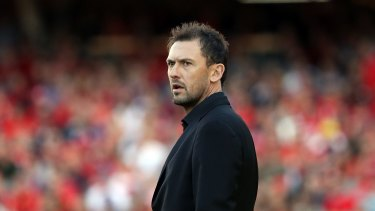 Wanderers coach Tony Popovic was part of the success of the A-League this year.
