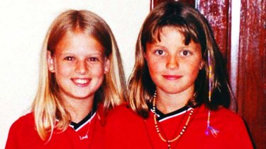 Murdered ... Holly Wells, left, and Jessica Chapman.