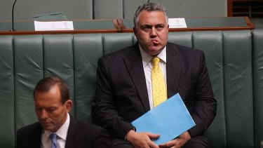 What budget crisis? ... Joe Hockey.