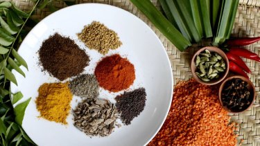 Spice of life ... flavourings such as turmeric and cinnamon may help protect against heart disease.