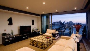 New pad ... Nicole Kidman's penthouse.