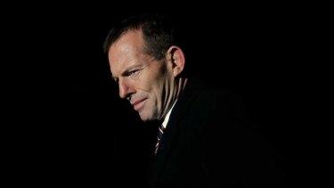 """Tony Abbott ... """"crystal clear""""."""