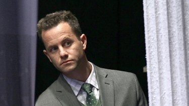 Harsh criticism ... Kirk Cameron backstage at the 2012 Conservative Political Action Conference.
