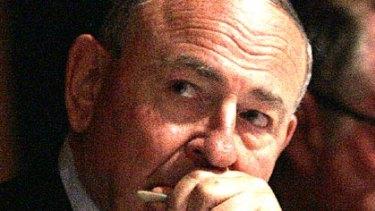 'Climate change agnostic' ... ABC chairman Maurice Newman.