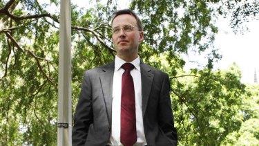 """Legitimate"" matters of public debate ... NSW Greens MP David Shoebridge supports councillor Peter Freewater."
