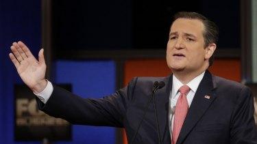 Defeated Trump in Iowa: Ted Cruz.