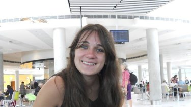 French student Sophie Collombet was found dead in Kurilpa Park, South Brisbane.