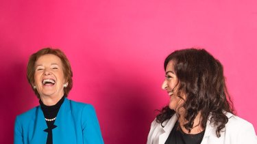 Mary Robinson and Maeve Higgins present the Mothers of Invention podcast