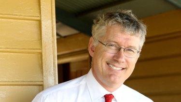 Health advocate ... BarleyMax developer Dr Matthew Morell.