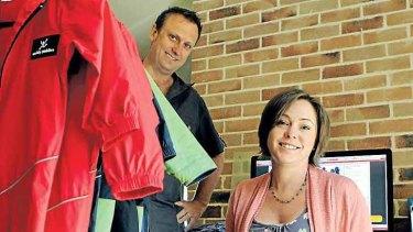Online entrepreneur ... Sonja Firth runs her business from home.