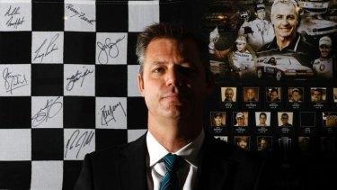 Man with a plan: V8 Supercars boss James Warburton.