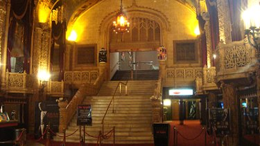 The Regent Cinema's protected main staircase.