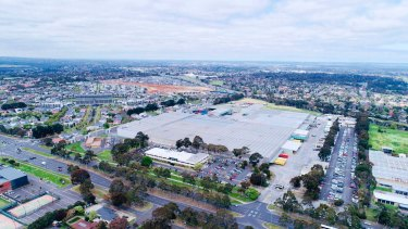 Woolworths' Mulgrave distribution centre.