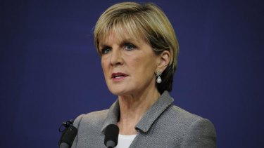 """""""In the case of the mining tax, it's clear that it's a useless tax ... the mining tax must go"""": Julie Bishop."""