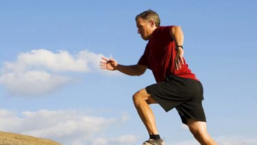 The ability to run two kilometres in 10 minutes is one indicator of physical fitness.