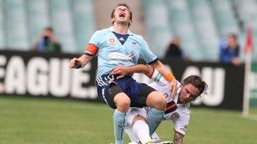 Up for the battle: FC's Alessandro Del Piero.