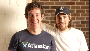 Mike Cannon-Brookes and Scott Farquhar represent a different approach for an Australian tech company; they're holding on to the company and taking it overseas, rather than letting themselves be bought out.