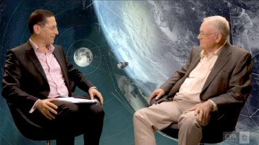 Moonwalk hero Neil Armstrong is interviewed for the CPA website.