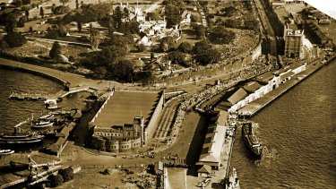Fort Macquarie Tram Sheds at Bennelong Point, Sydney.