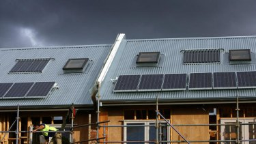 The requirement that all new homes in Victoria are to be built with a six-star energy rating may be scrapped.
