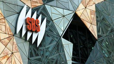 SBS offices in Melbourne's Federation Square.