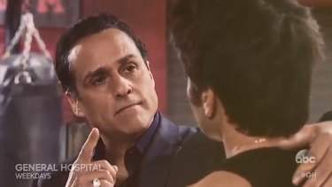 ABC's General Hospital celebrates 25 years of Maurice Benard as Sonny Corinthos.