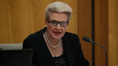 """""""Of course we would have gone to another election"""" ... Bronwyn Bishop."""