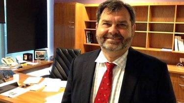 Queensland Chief Justice Tim Carmody.