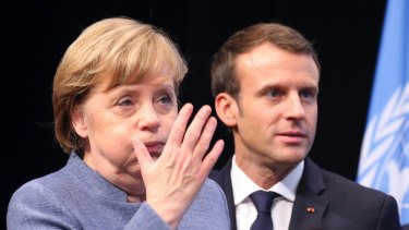 Macron needed a strong ally in Angela Merkel in Germany.