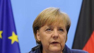 """""""We have a historical obligation"""" ... German Chancellor, Angela Merkel."""