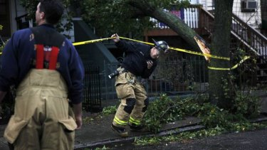 Hurricane Sandy is breaking records.
