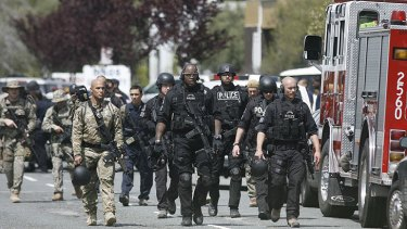 SWAT officers have been searching the campus.