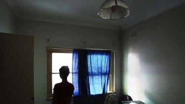 Slum living ... Philipa and a friend paid $200 to share a room.
