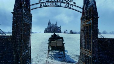 Allerdale Hall in Crimson Peak: