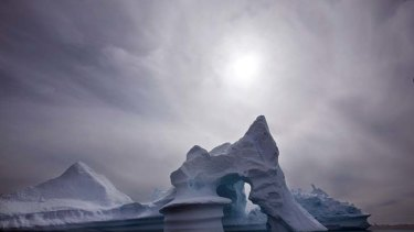 The Greenland ice sheet has been found to be melting much faster than previously thought.