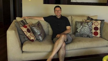 ''It's almost like I am travelling without travelling'': Warren Smith rents out bedrooms in his apartment on Airbnb.