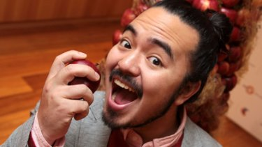 Serious business ... Adam Liaw.
