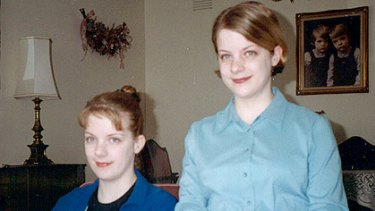 A recent photograph of the Hermeler twins, Candice (left) and Kristin, who died in the double shooting.