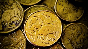 The Aussie dollar leaps on good productivity news.