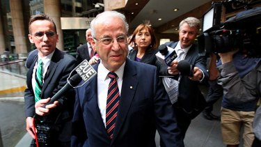 """Eddie Obeid ... alleged to have used a series of """"front"""" companies."""