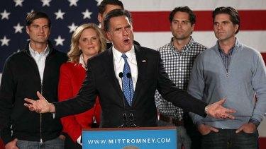 Winner in Florida ... Mitt Romney.