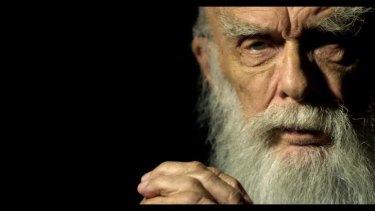 Seeking the truth: US charlatan-buster, conjuror and sceptic James Randi.