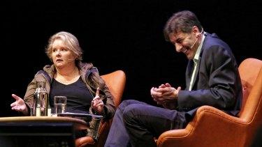 Magda Szubanski talks to George Megalogenis at 2016 Sydney Writers' Festival.