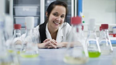 CSIRO scientist Francesca Gissi. Just 12 per cent of senior specialists are women.